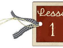 Lesson-1