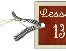 Lesson-13