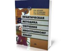 Практическая методика обучения иностранному языку, Колкер Я.М.